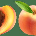 Imagem de Frutas – Pêssego 2 PNG