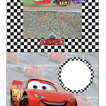 Convite Carros 95 PNG