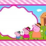 Convite Peppa Pig 112 PNG