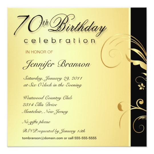 convite para aniversário