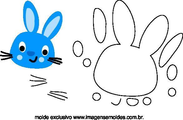 molde de coelho para eva feltro e artesanatos, Filzhasenform - EVA und Kunsthandwerk, Molde de conejito de fieltro - EVA y manualidades, Felt Bunny Mold - EVA and Crafts