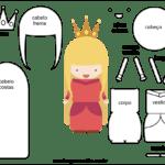 Molde de Fada para Feltro – EVA e Artesanato 4