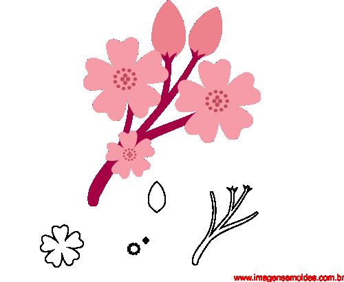 Molde De Flor Para E V A Feltro E Artesanato 20