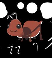 Molde de Formiga para EVA Feltro e Artesanato 1