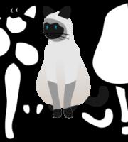 Molde de Gato Para EVA - Feltro e Artesanatos