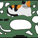 Molde de Gato para Feltro – EVA e Artesanatos 2