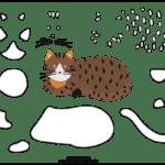 Molde de Gato para Feltro – EVA e Artesanato 3