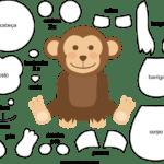 Molde de Macaco para Feltro – EVA e Artesanato 3