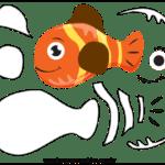 Molde de Peixe Para Feltro – EVA e Artesanato 4