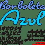 Moldes de Letras Cursivas para Feltro, E.V.A e Artesanatos