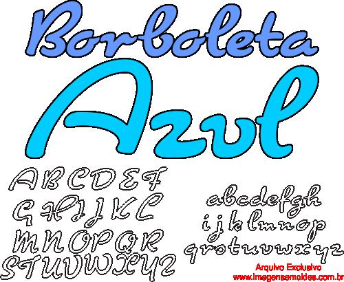 Moldes de Letras do Alfabeto para Feltro, EVA e Artesanatos, Alphabet Buchstaben Vorlagen für Filz, EVA und Kunsthandwerk, Plantillas de letras del alfabeto para fieltro, EVA y manualidades, Alphabet Letters Templates for Felt, EVA and Crafts