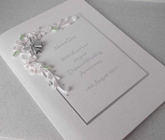 convite para bodas de diamante