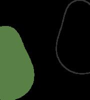 Molde de Abacate para EVA - Feltro e Artesanatos1