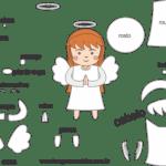 Molde de Anjinha para Feltro – EVA e Artesanatos 3