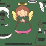 Molde de Anjinha para Feltro – EVA e Artesanatos 5