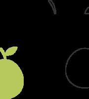 Molde de Goiaba para EVA - Feltro e Artesanatos1