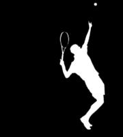 Molde de Jogador de Tenis para EVA Feltro e Artesanato