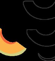 Molde de Melão para EVA - Feltro e Artesanatos1.1