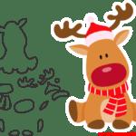 Molde de Natal Para E.V.A. Feltro e Artesanato – 16