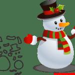 Molde de Natal Para E.V.A. Feltro e Artesanato – 2