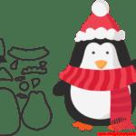Molde de Natal Para E.V.A. Feltro e Artesanato – 3