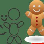 Molde de Natal Para E.V.A. Feltro e Artesanato – 30