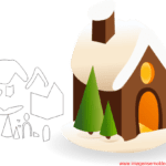 Molde de Natal Para E.V.A. Feltro e Artesanato – 5