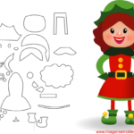 Molde de Natal Para E.V.A. Feltro e Artesanato – 6