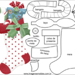 Molde de Natal para Feltro – EVA e Artesanato 48