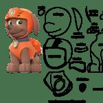 Molde de Personagens Zuma para Feltro – EVA e Artesanato 6