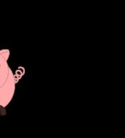 Molde de Porco para EVA - Feltro e Artesanato