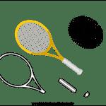 Molde de Raquete de Tênis para Feltro – EVA e Artesanato