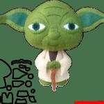 Molde de Star Wars para E.V.A. Feltro e Artesanato – YODA