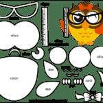 Molde do Dia do Professor para Feltro – EVA e Artesanato 9