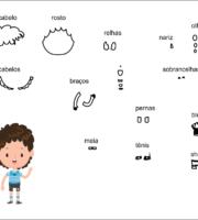 molde de criança menino para eva-feltro e artesanatos 3