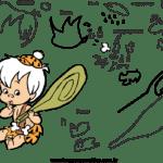 Molde dos Flinstones para Feltro – EVA e Artesanatos6