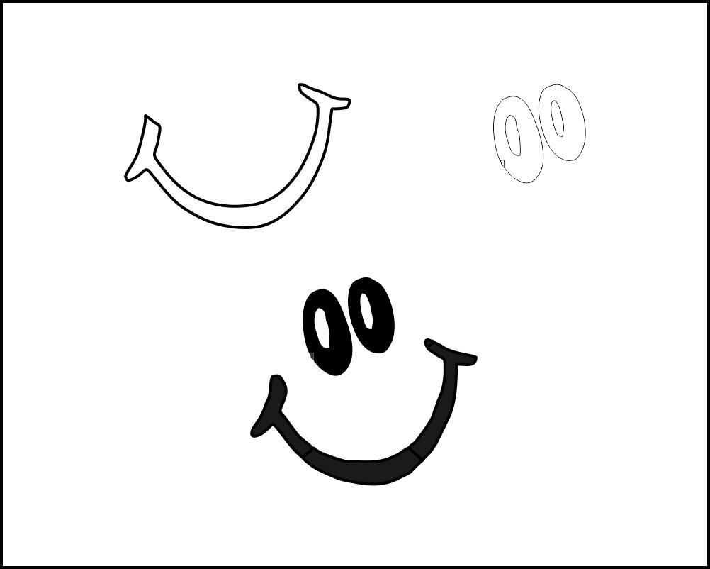 Molde Sorriso Para Feltro Eva E Artesanatos De 2