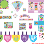 Kit Digital Para Festa Shopkins_EDITÁVEL