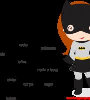 Arquivos Molde De Batgirl Para E V A Feltro E Artesanato