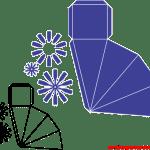 Molde de Caixa para Corte – Caixa Moinho