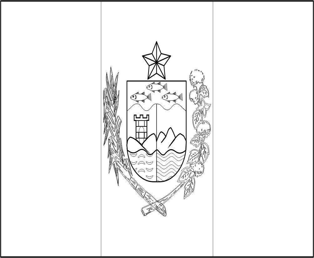 BANDEIRA DO BRASIL - DO ESTADO DE ALAGOAS PARA COLORIR 22