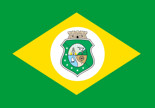 BANDEIRA DO BRASIL - DO ESTADO DO CEARÁ EM VETOR, JPG, PNG, EDITÁVEL 23