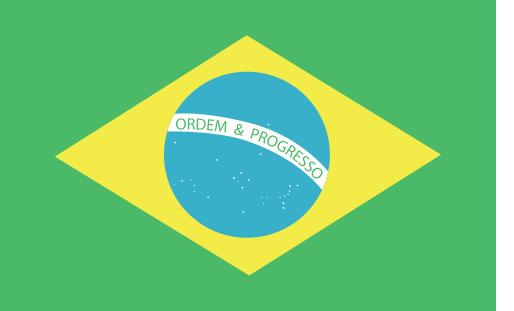 BANDEIRA DO BRASIL EM VETOR, JPG, PNG, EDITÁVEL 01