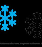 Molde Natal - Floco de Neve - Moldes de EVA - Feltro e Artesanato