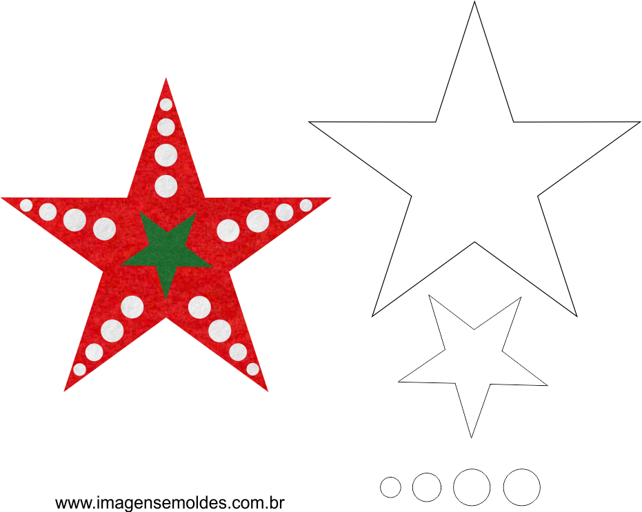 Molde de Natal Estrela 03, Weihnachtsform, molde de navidad, christmas mold