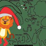 Molde de Natal Para E.V.A. Feltro e Artesanato – Bichinho 11