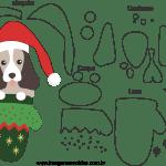 Molde de Natal para Feltro, Eva e Artesanato-Bichinho 5