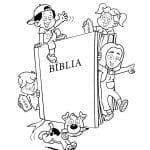 Desenhos Bíblicos para Colorir da Bíblia