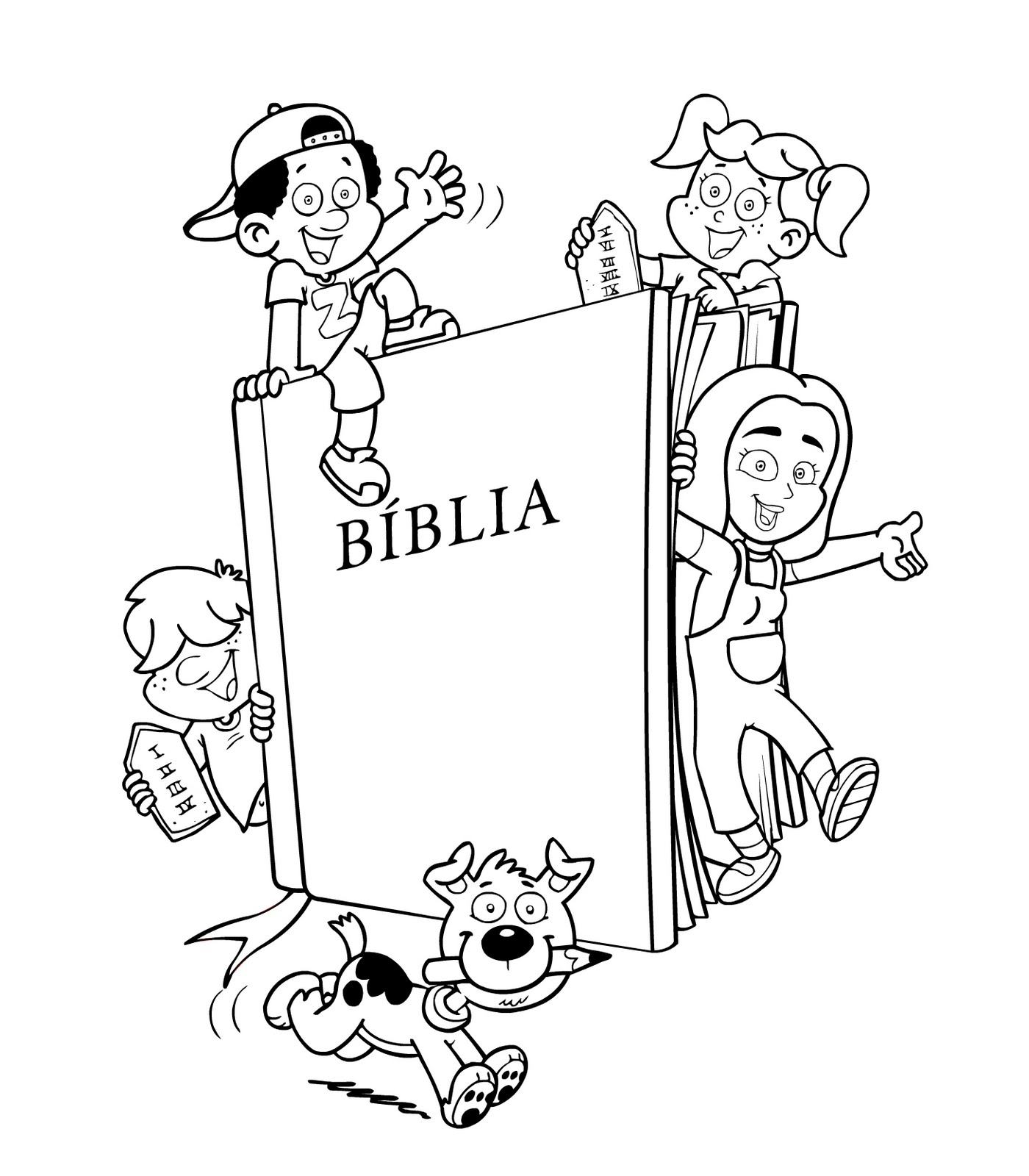 Desenhos Biblicos Para Colorir Da Biblia