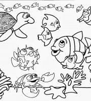 Arquivos Pdf Para Colorir Animais No Fundo Do Mar